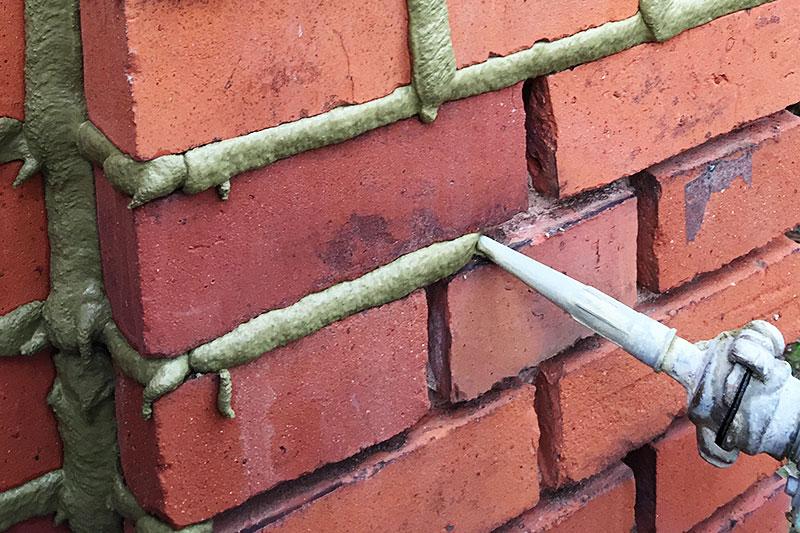Machinelle Verfugung - Bangert Bauwerkssanierung